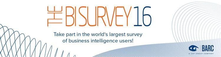 """Yellowfin """"consistently top-ranked"""" for Innovation, Collaborative BI and ease-of-use: BARC's The BI Survey 16"""