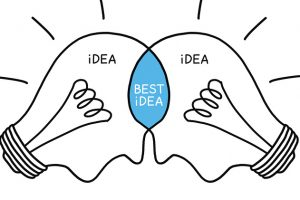 Collaboration brings about the best ideas