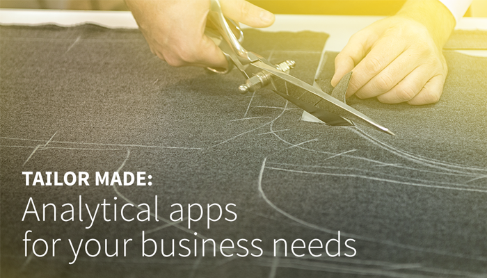 The future of business intelligence is analytical apps