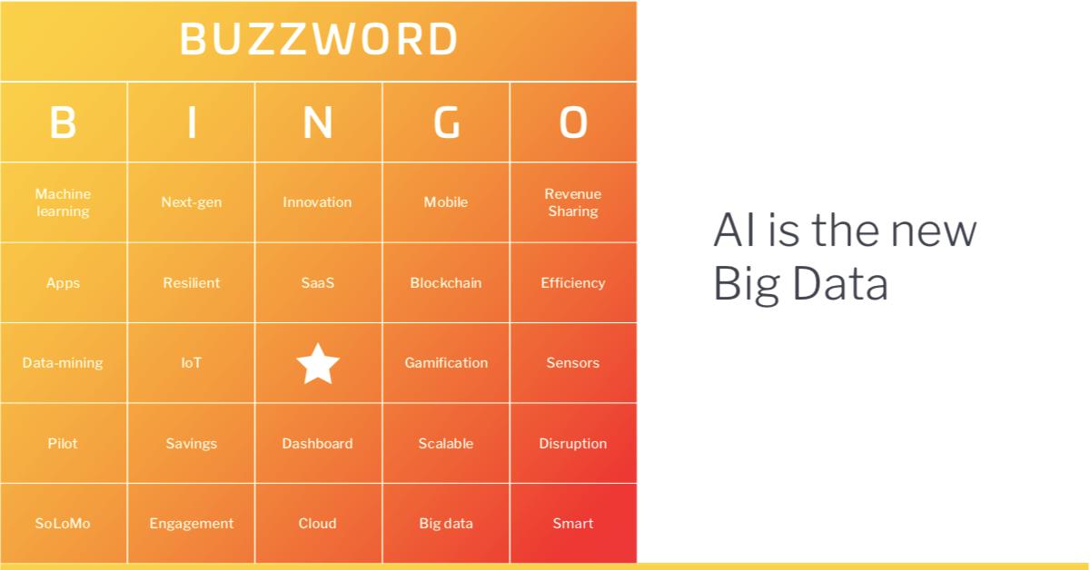 Play BI buzzword bingo