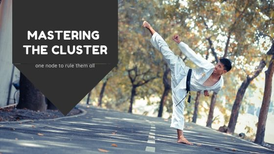 Mastering Yellowfin clustering