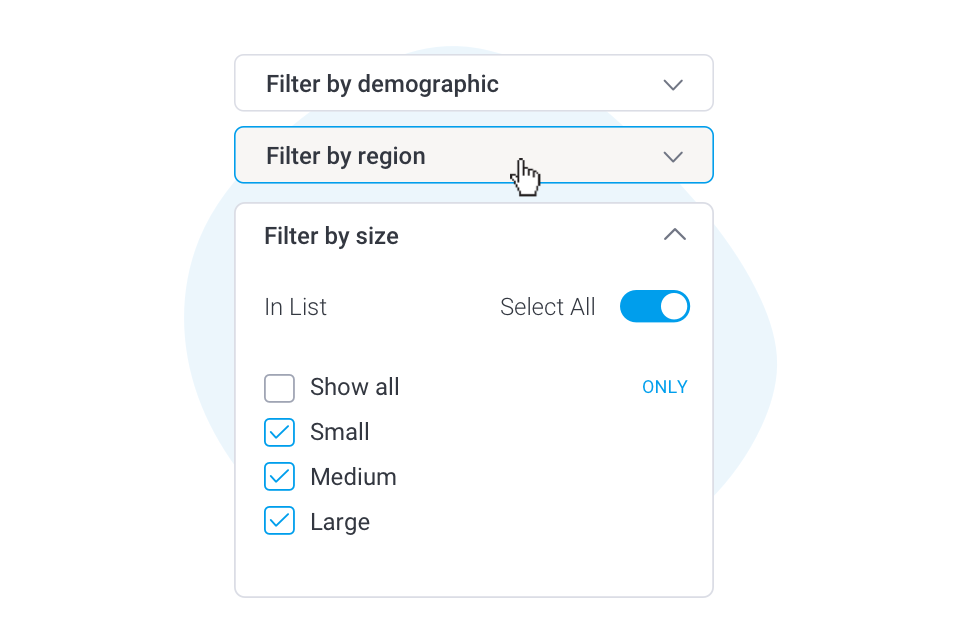 Restyled filters