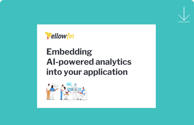 Embedded AI powered analytics