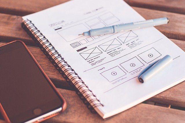 Dashboard design blueprint prototype