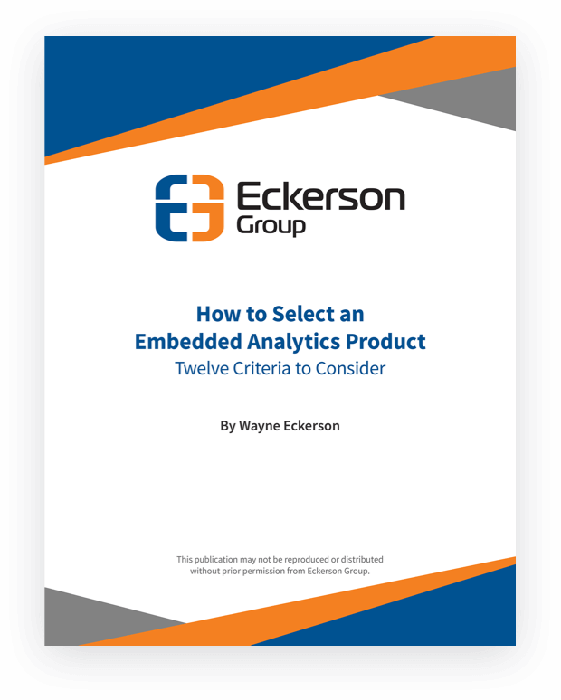How to Select an Embedded Analytics Product: 