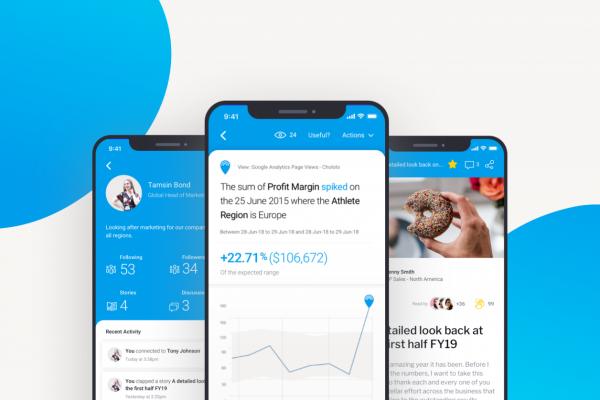 Yellowfin Mobile App - Mobile BI