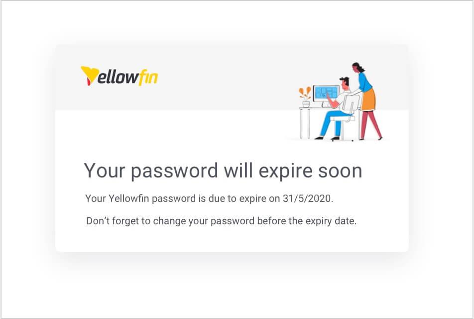 Password Expiry and Reminders