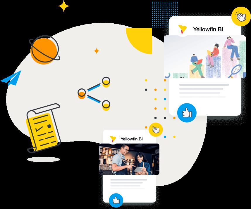 Yellowfin Customer Success Stories GRAPHIC