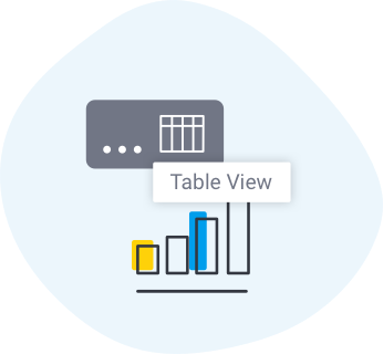 Toggle Report and Chart icon