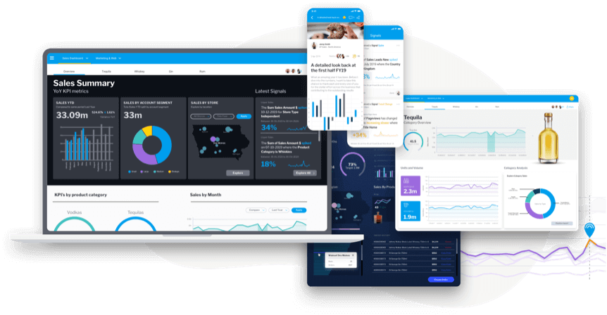 Action based dashboards