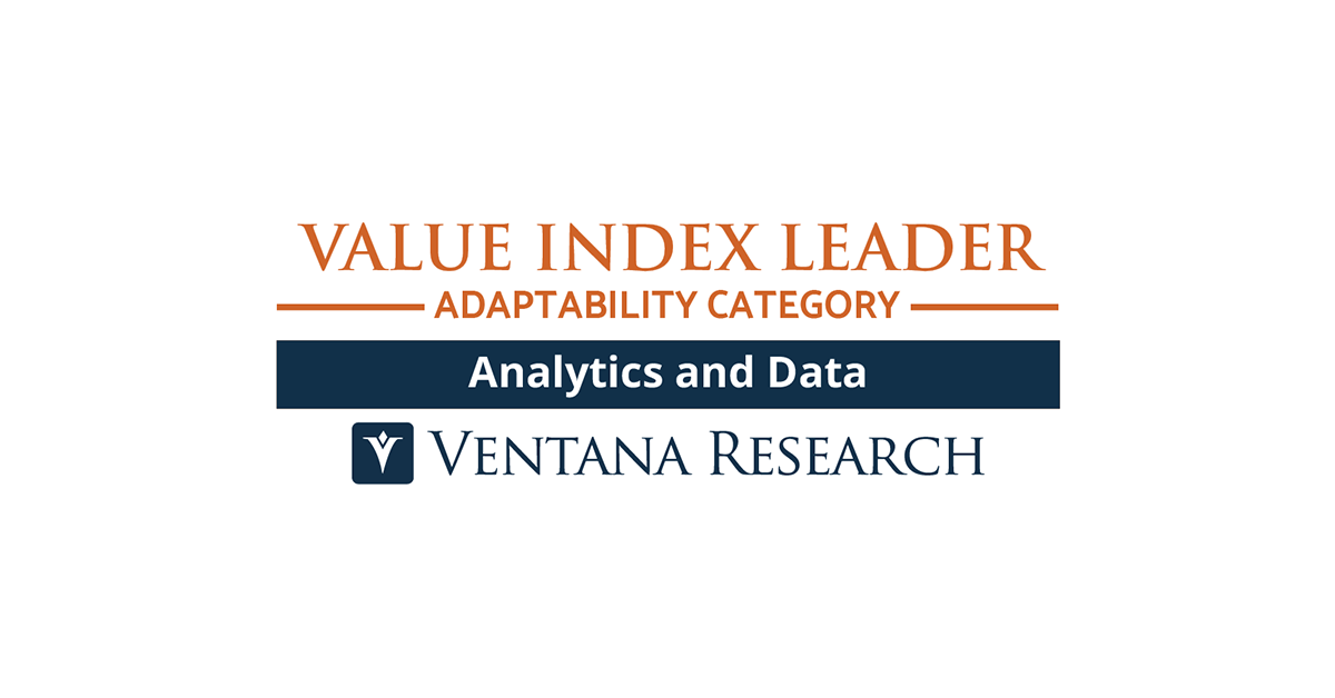 Ventana Research Ranks Yellowfin a Value Index Leader in 2021 Value Index for Analytics and Data