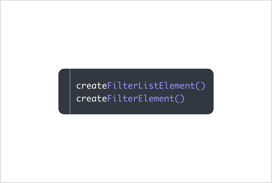 Enhanced JS API