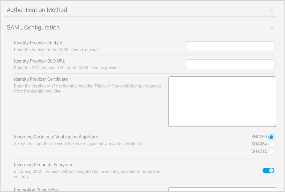 Enhanced SAML authentication