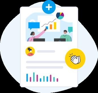 Data storytelling feed