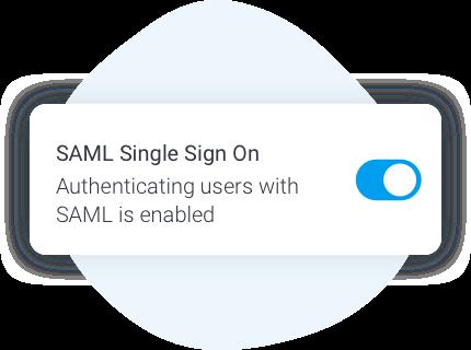 Enhanced SAML configuration