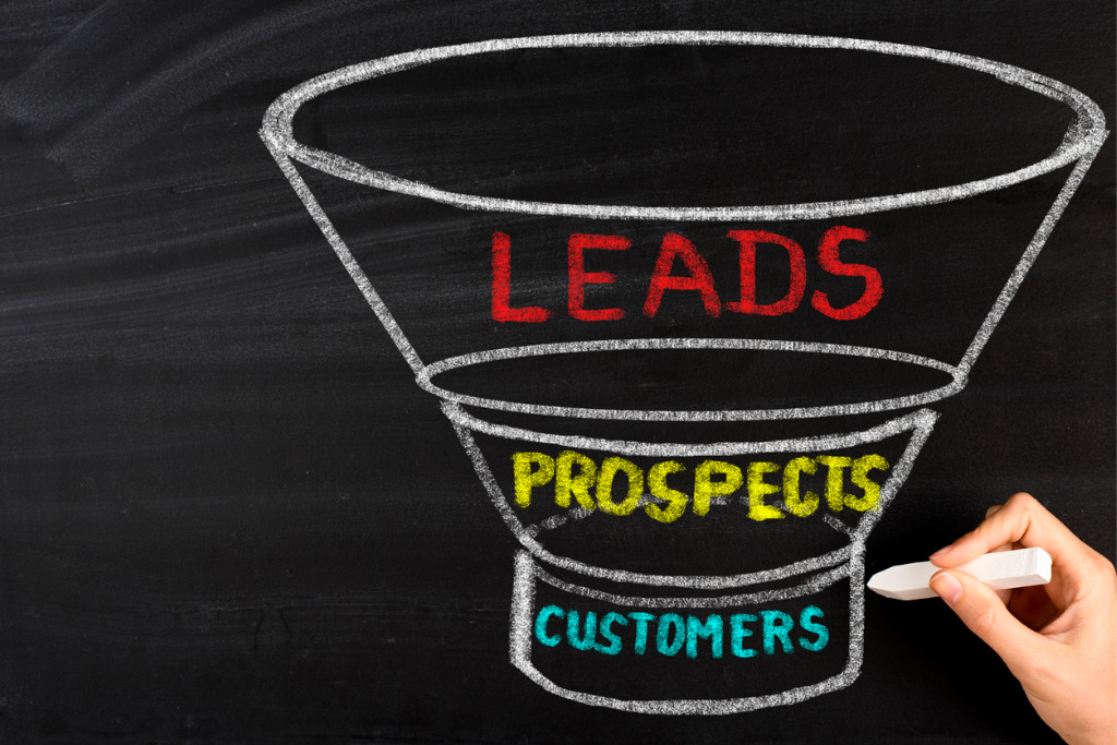 Sales Funnel CRM data