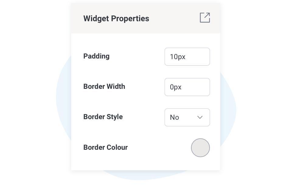 Enhanced Properties Panel